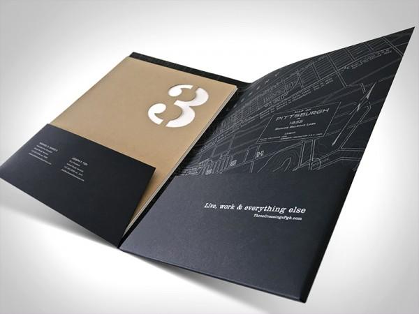 سفارش طراحی و چاپ فولدر تبلیغاتی