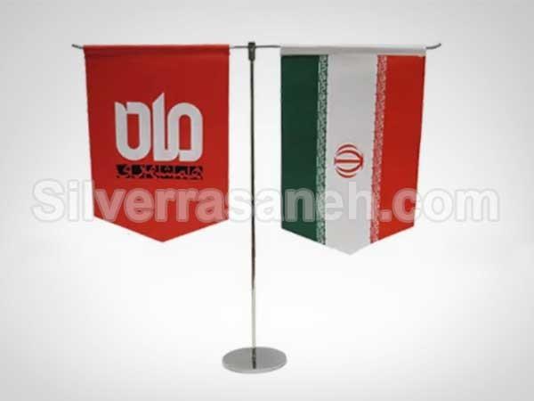 چاپ پرچم رومیزی اروپایی
